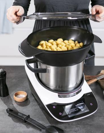 Gnocchi im Cookit Dampfgaraufsatz