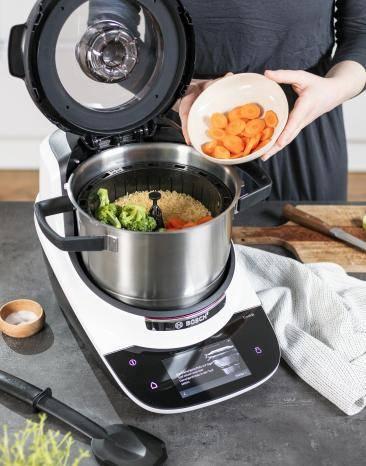 Cookit mit Reis und Gemüse